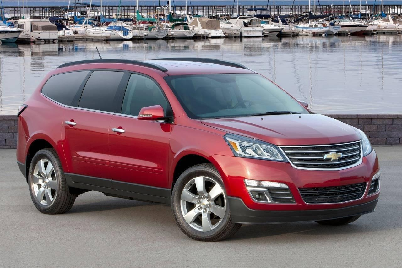 Ditch your minivan for the traverse depaula chevrolet