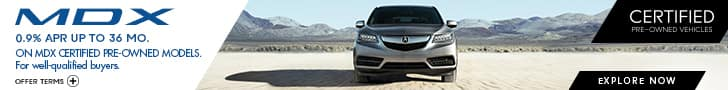 REQUIRED -  Acura MDX