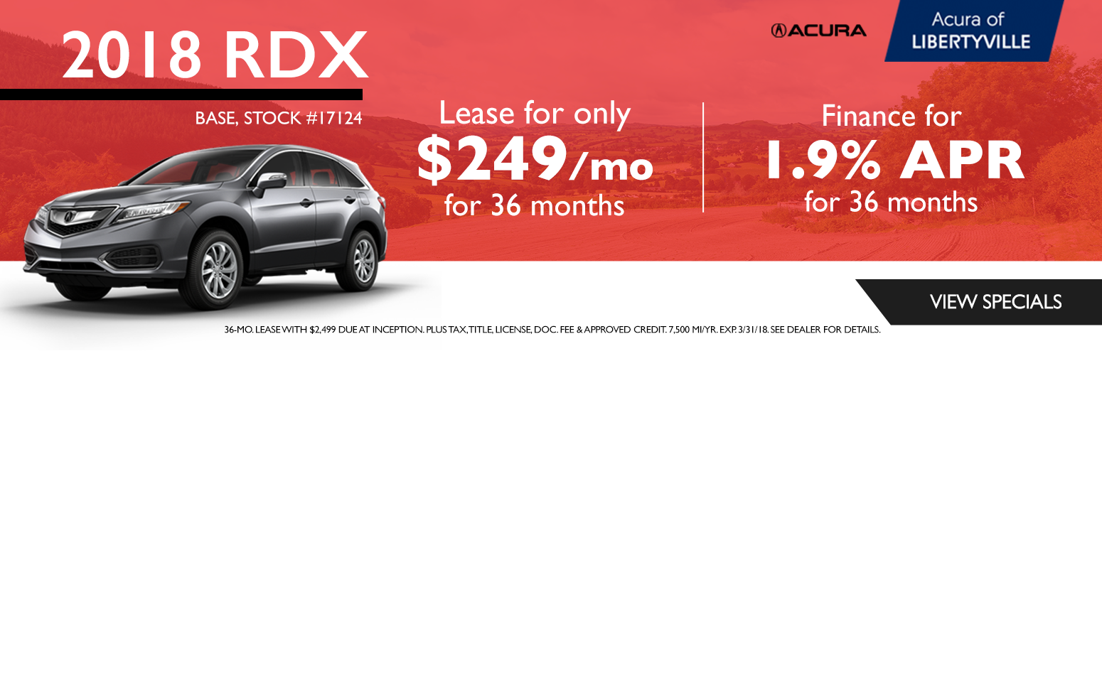 Acura Of Libertyville Libertyville IL New Used Acura Dealer - Park ave acura parts