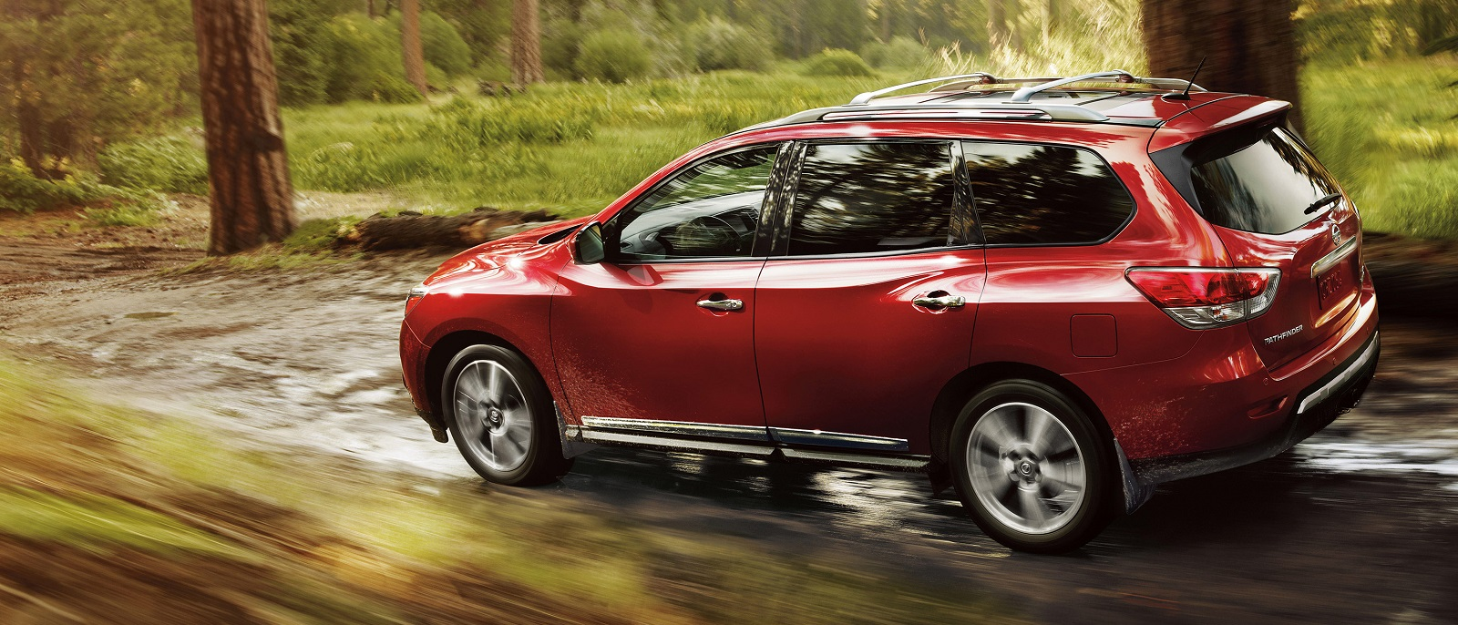 2016 Nissan Pathfinder Red