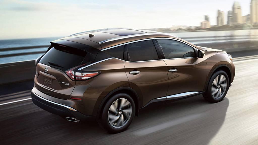 2017 Nissan Murano exterior