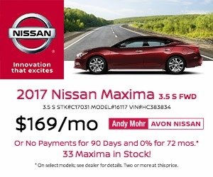 2017 Nissan Maxima Lease Offer