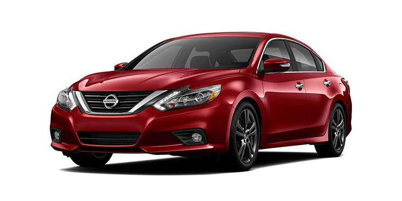 2018 Nissan Altima Red