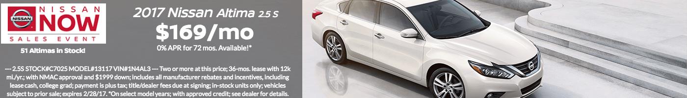 SRP-2017 Nissan Altima 2.5 S