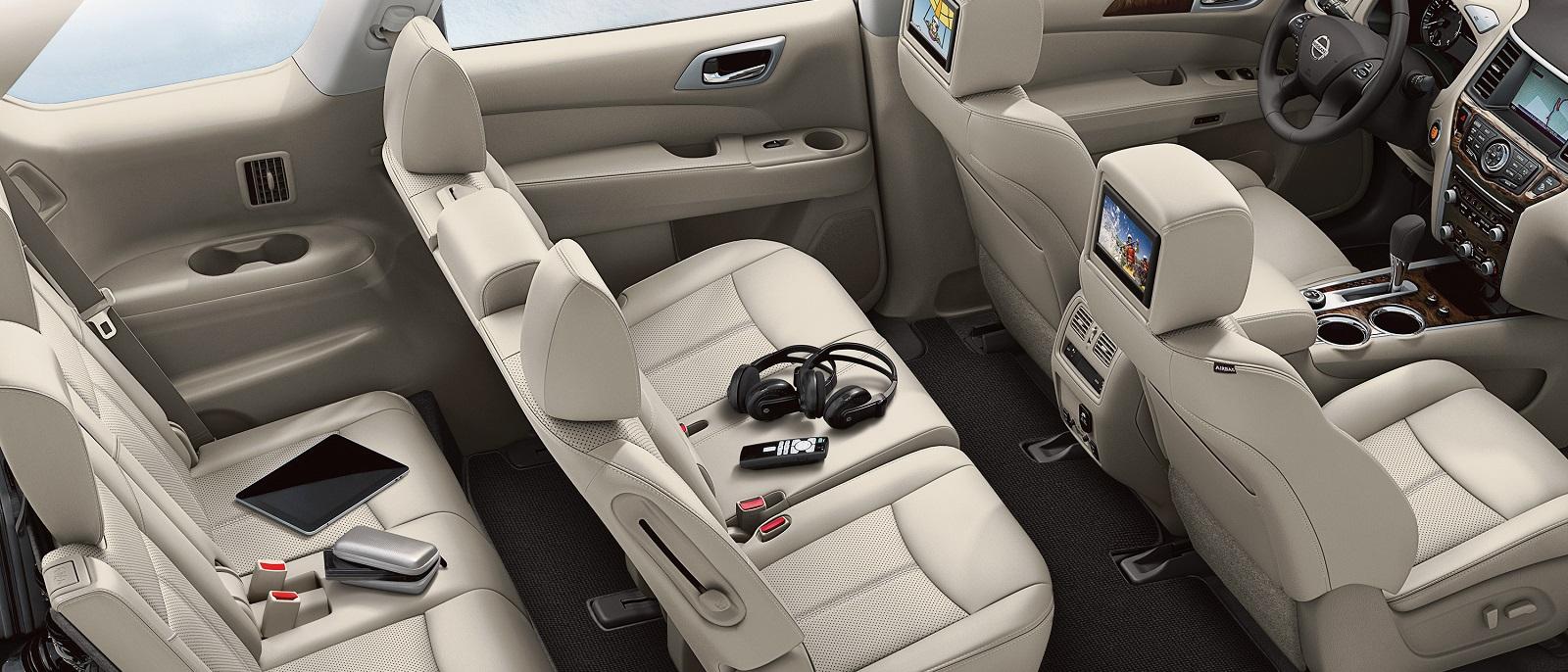 2016 Nissan Pathfinder Seats