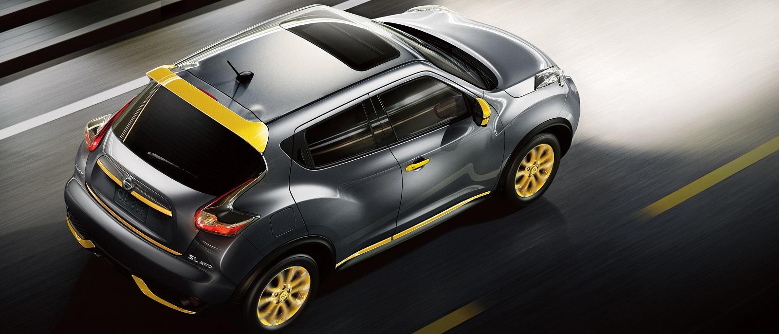 2016 Nissan Juke Gun Metallic Top