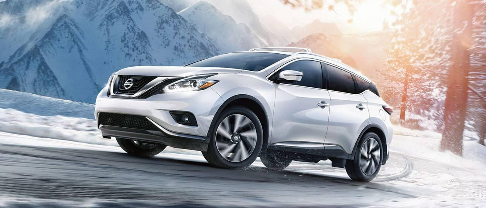 2017 Nissan Murano in the mountains