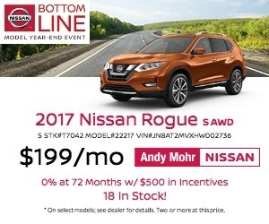 2017 Nissan Rogue Lease Offer
