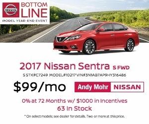 2017 Nissan Sentra Lease Offer