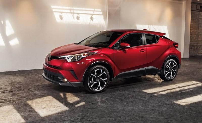 2018 Toyota C-HR in Ruby Flare Metallic