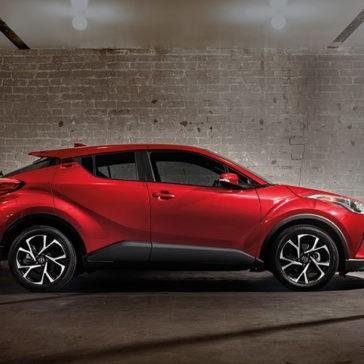 2018 Toyota C-HR side exterior