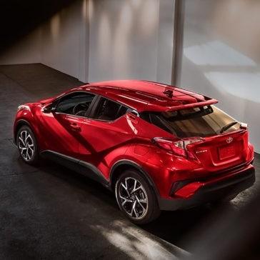 2018 Toyota C-HR XLE exterior