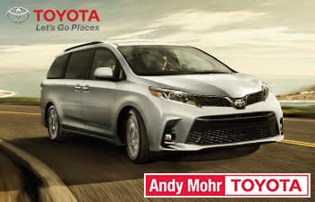 2019 Toyota Sienna XLE FWD Lease Offer