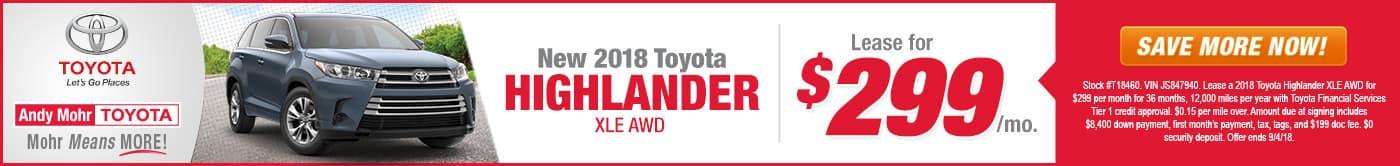 Toyota Highlander Indianapolis