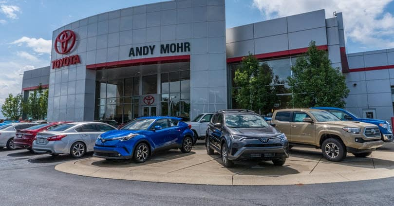 Car Dealership Near Me >> Used Car Dealer Near Me Andy Mohr Toyota