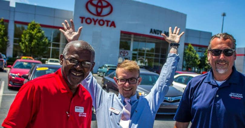 Andy Mohr Toyota team