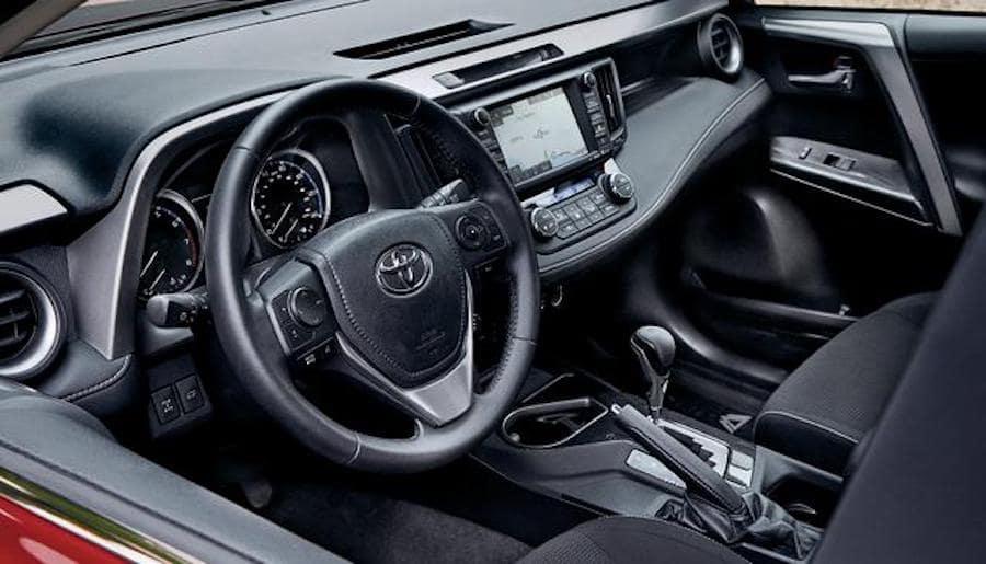 2018 Toyota Rav4 Hybrid Interior Avon In Andy Mohr Toyota