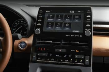 2018 Toyota Avalon interior