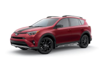 2019 Toyota Rav4 Adventure Red