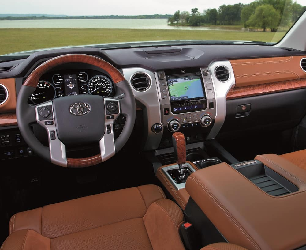2019 Toyota Tundra Interior Leather