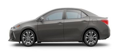2019 Toyota Corolla Falcon Gray Metallic