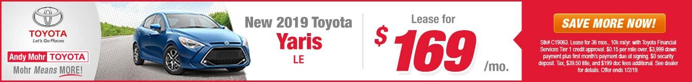 Toyota Yaris Indianapolis