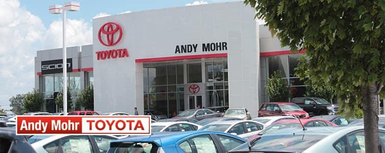 andy mohr toyota dealer banner
