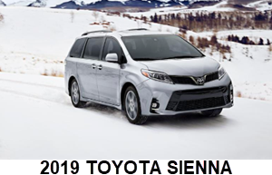 2019 Toyota Sienna White