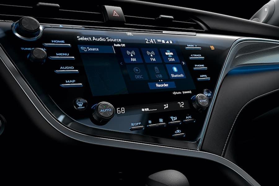 2019 Toyota Camry Interior Technology