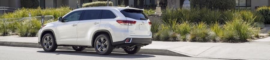 2019 Toyota Highlander White