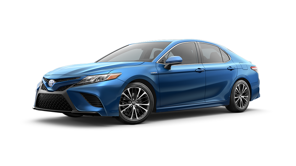 Toyota Camry Hybrid Blue Streak Metallic