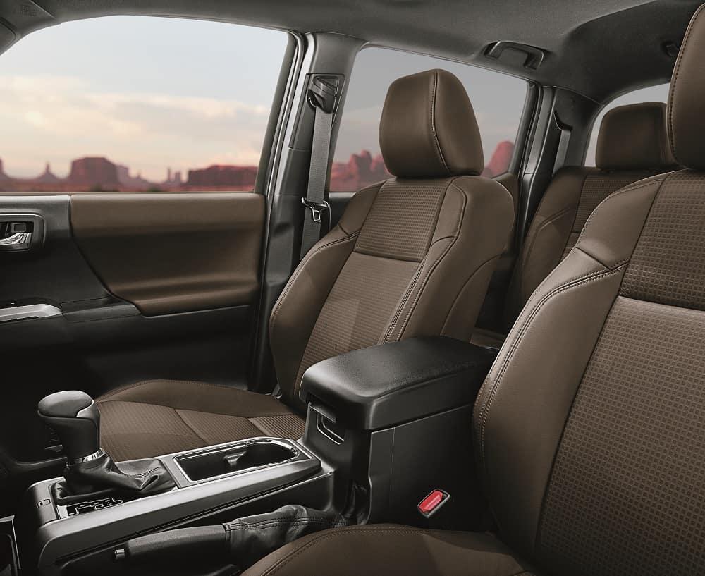 Toyota Tacoma Interior Tan Leather