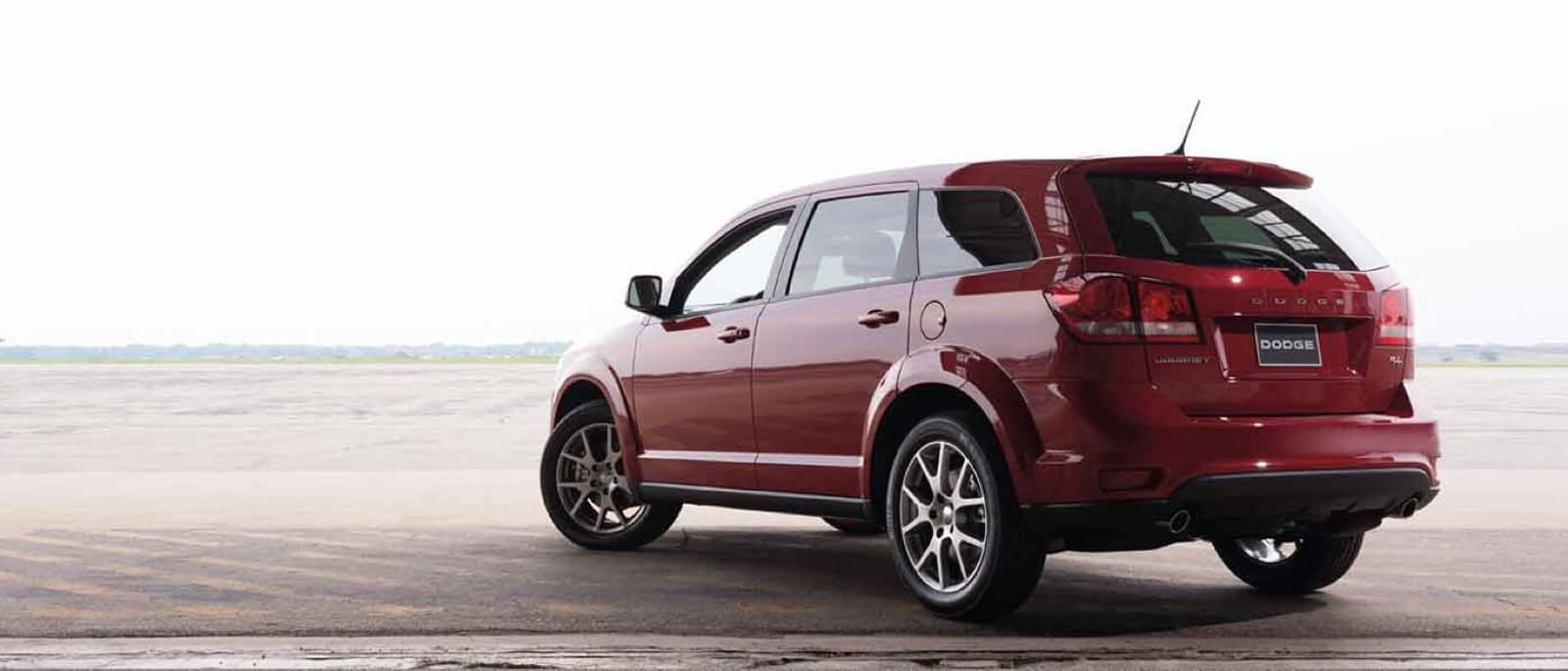 2016 Dodge Journey rear view