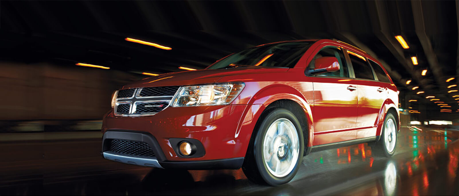 2016 Dodge Journey in red