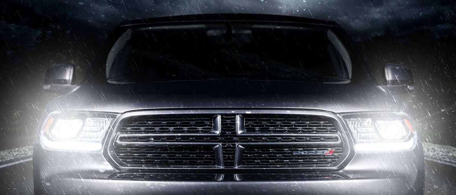 2016 Dodge Durango dramatic front view