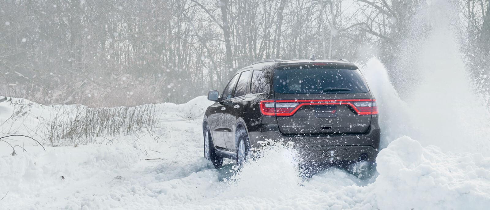 2016 Dodge Durango conquers snow