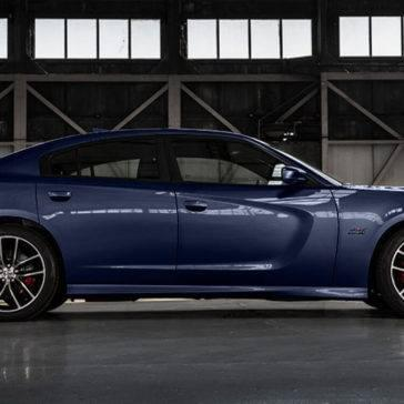2017 Dodge Charger side exterior