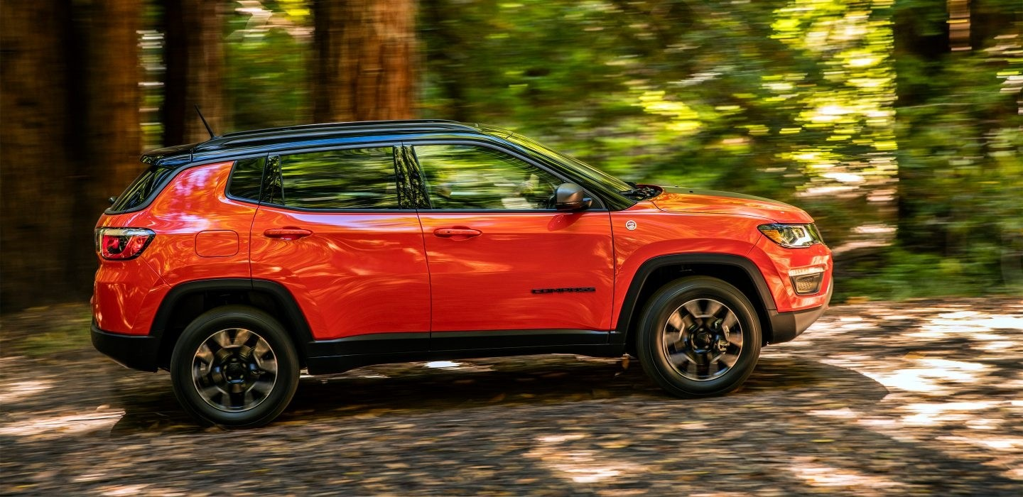 2017 Jeep Compass side profile