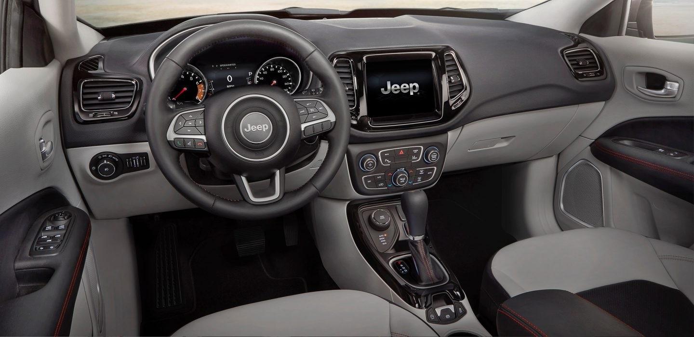 2017 Jeep Compass Interior Cabin