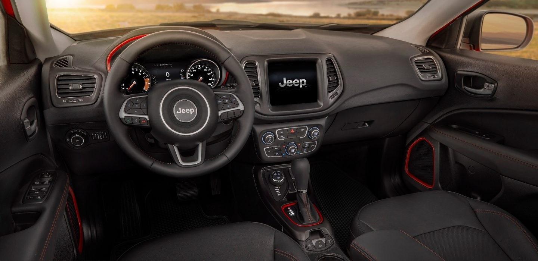2017 Jeep Compass dashboard