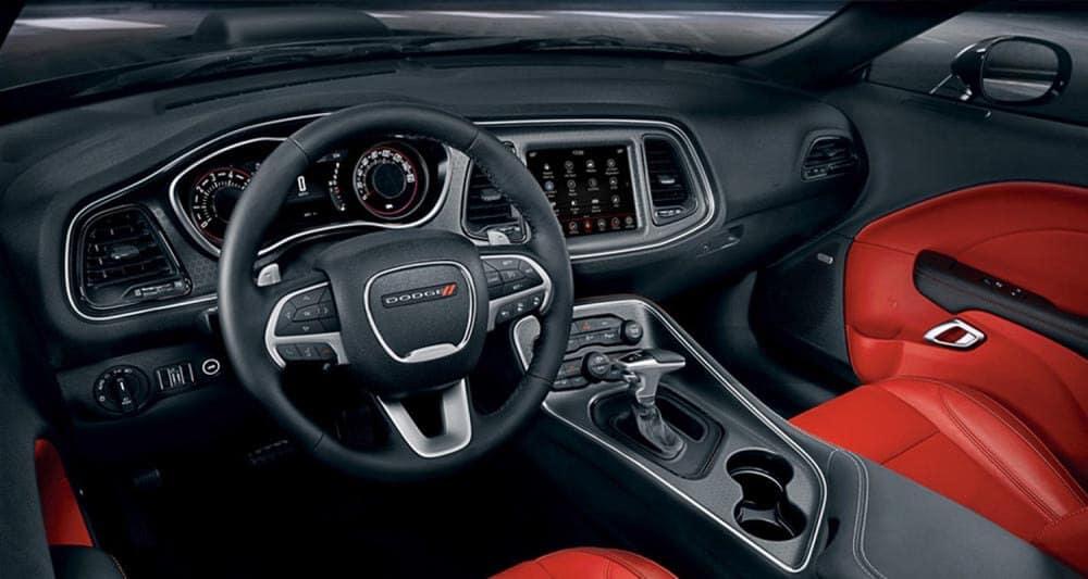 2018 Dodge Challenger dashboard