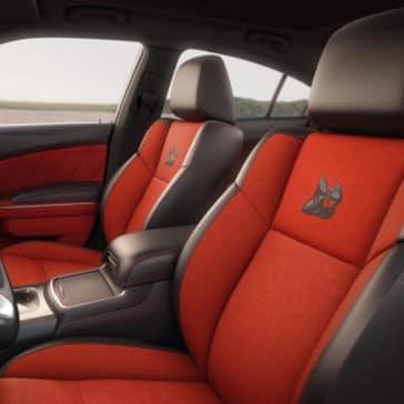 2018 Dodge Challenger seats