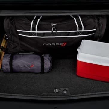 2018 Dodge Challenger trunk space