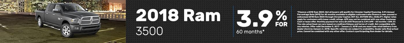 2018 Ram 3500 Offer
