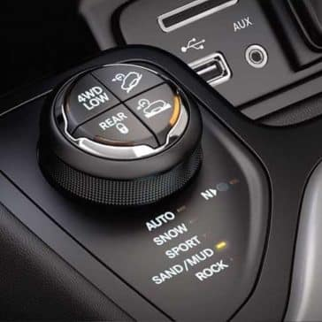 2018 Jeep Cherokee drive mode