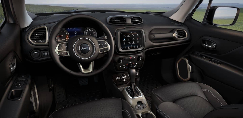 2018 Jeep Renegade dashboard