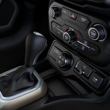2018 Jeep Renegade charging ports