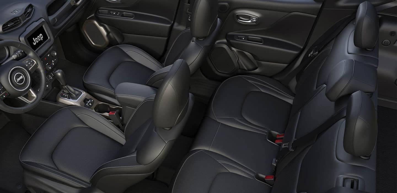 2018 Jeep Renegade interior cabin space