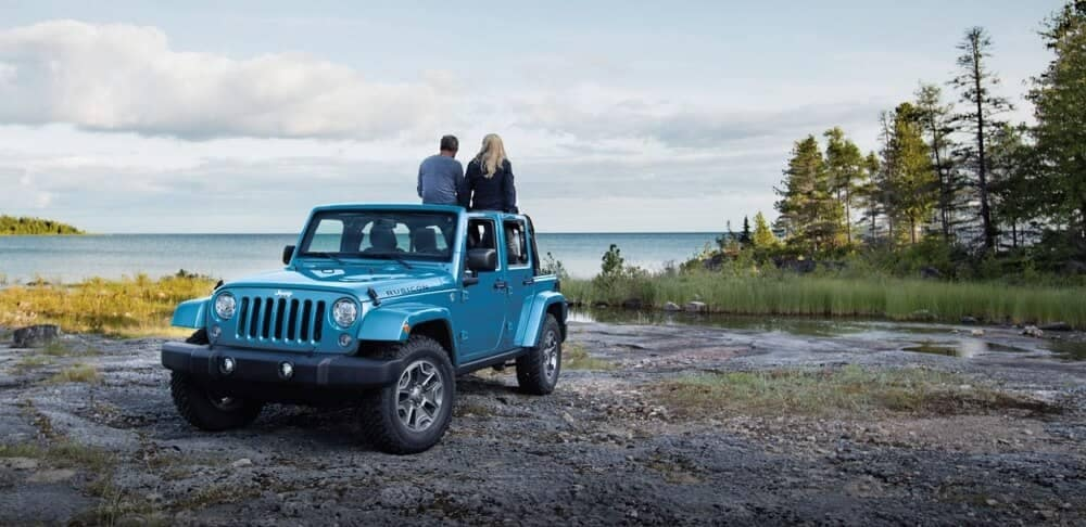 2018 Jeep Wrangler JK Unlimited Rubicon with roof off