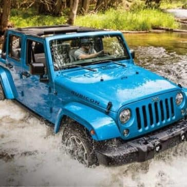 2018 Jeep Wrangler JK Unlimited Rubicon water fording off-road